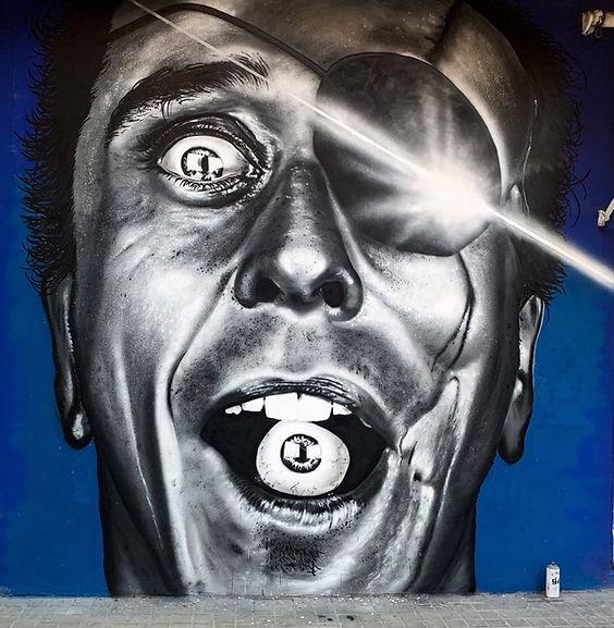 Graffiti Scars