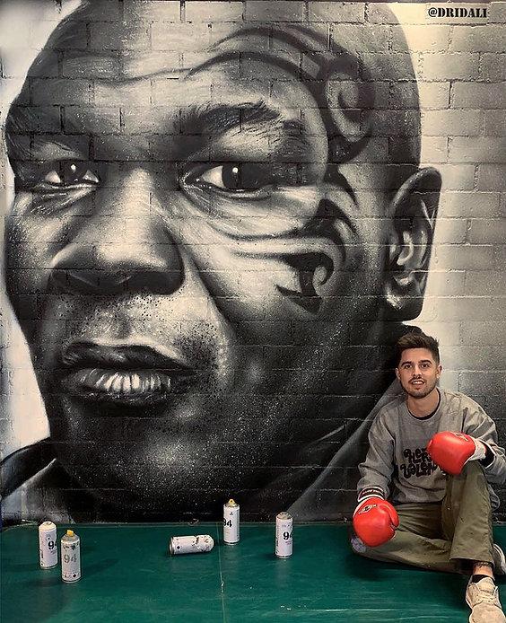 Graffiti Mike Tyson