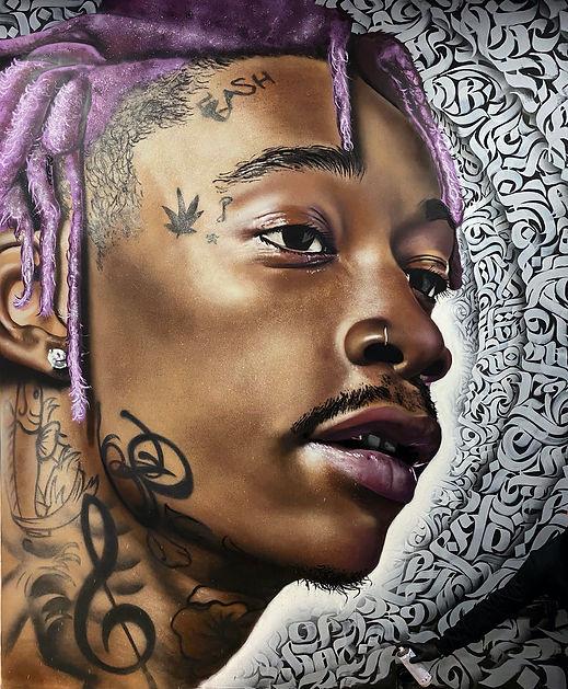 Graffiti Wiz Khalifa