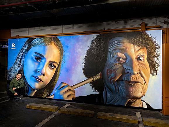 Graffiti El Corte Ingles Madrid