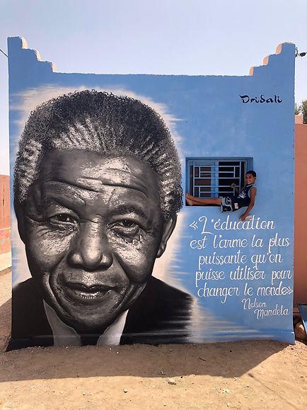 Graffiti Nelson Mandela