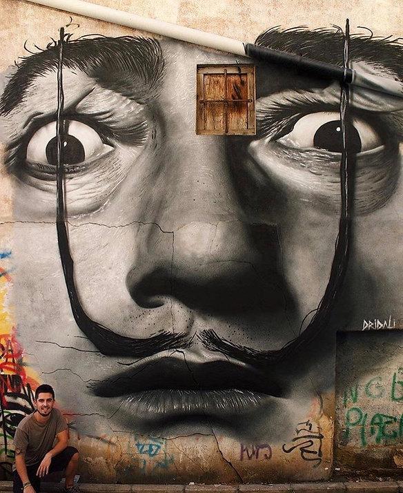Graffiti Dalí