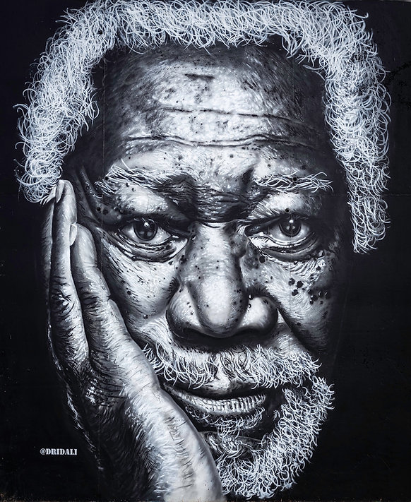 Graffiti Morgan Freeman