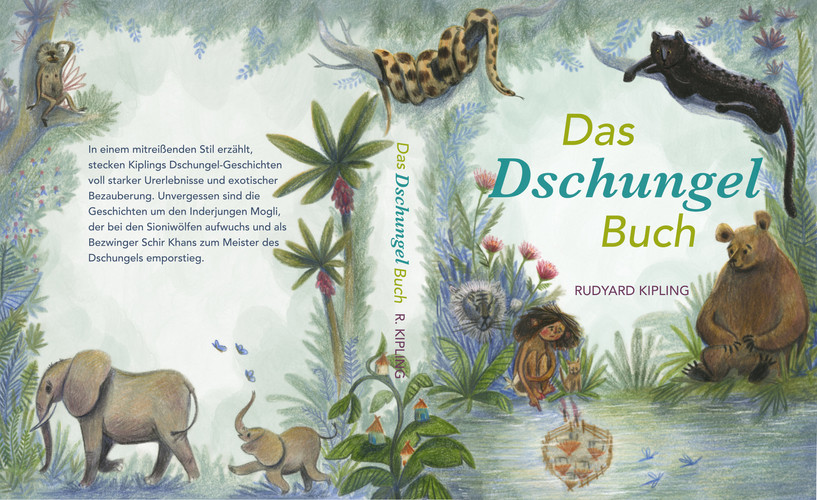 Das Dschungelbuch, R.Kipling // The Jungle Book, R. Kipling