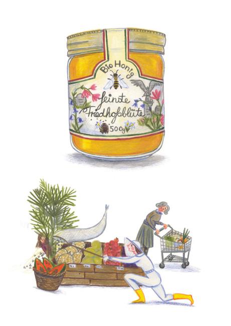 Finest Graveyard Blossom Honey