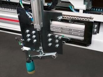 Dispositivo de pressão angular preciso com função de pré-posicionamento