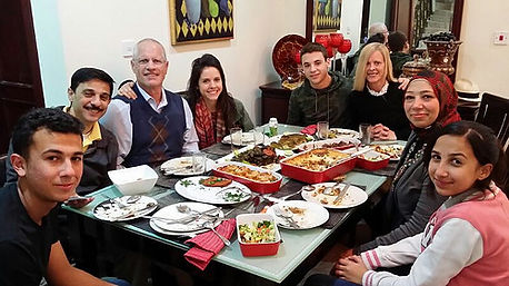 Host Family dinners are a great way to unify your homestay together!