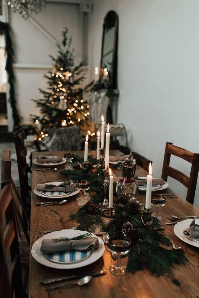 Une table scandinave simple et chic
