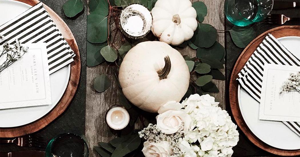 Halloween table de fête