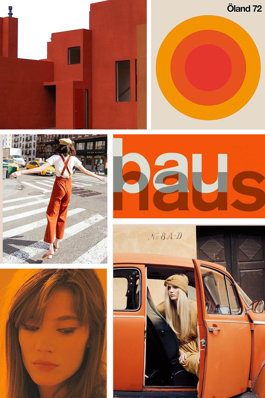Inspiration 70's Orange