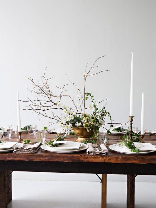 Table scandinave un rien magique
