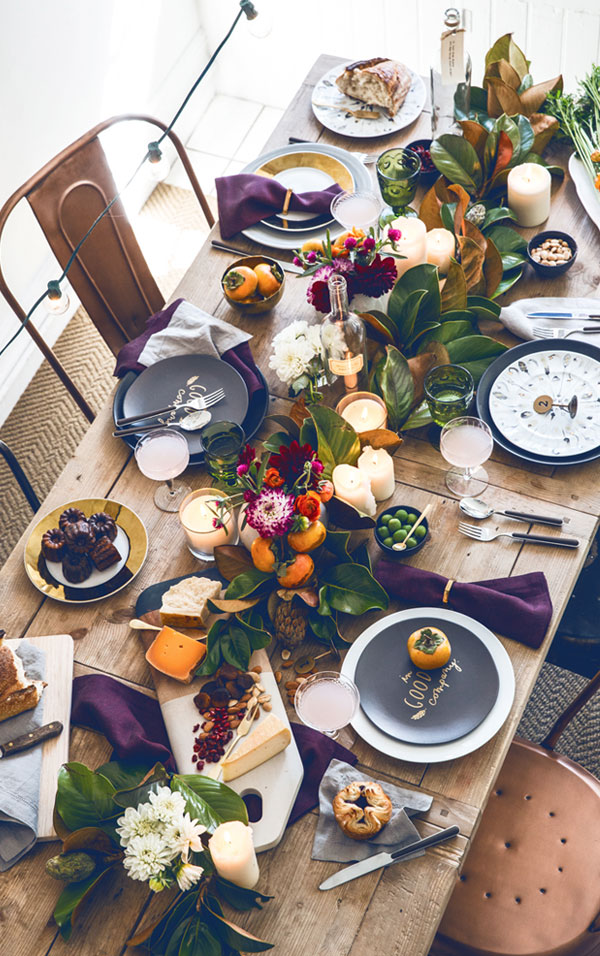 Des légumes en centre de table