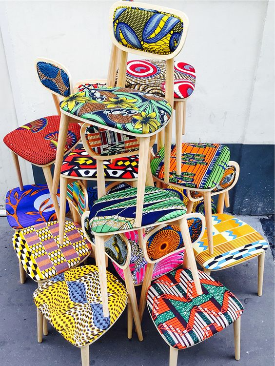 Chaises Wax Sandrine Alouf