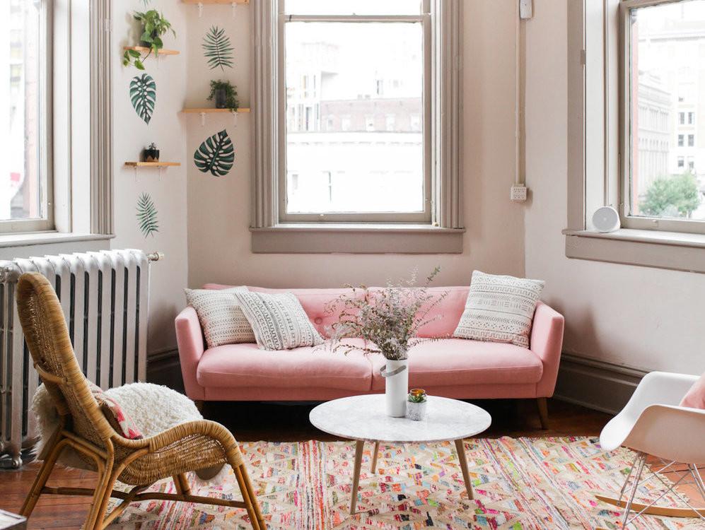 Salon Bohème Pink Millennial