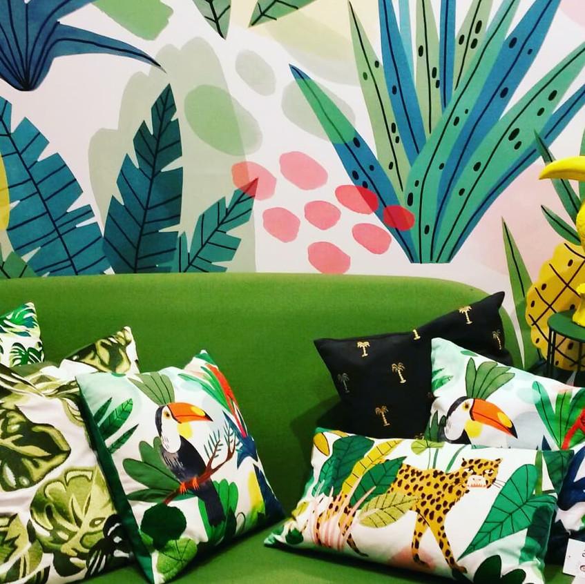 Salon Jungle by KLEVERING