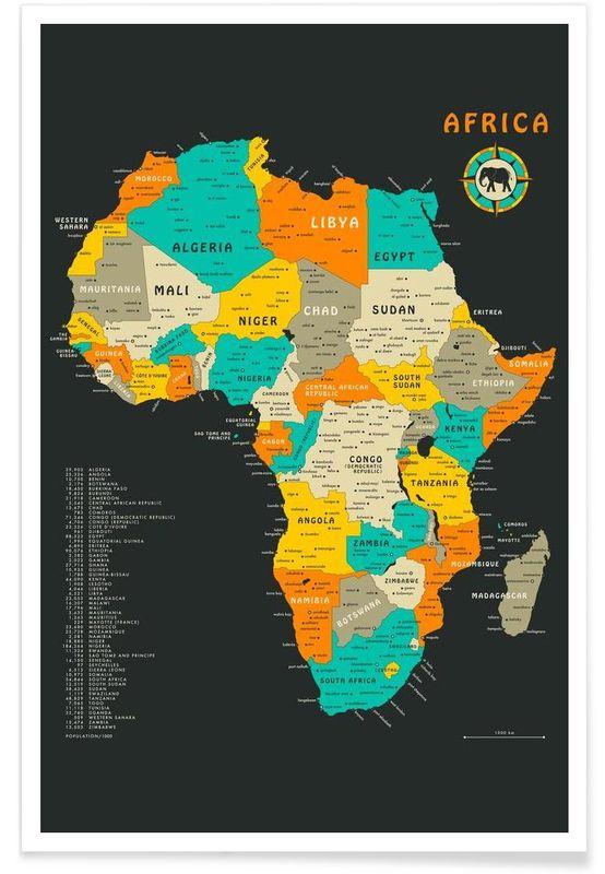 Affiche Africa JUNIQUE