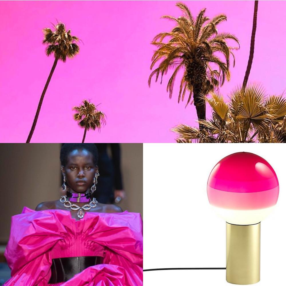 Shocking Pink color inspiration