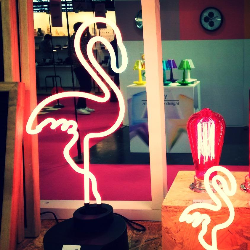 Neon Flamingo