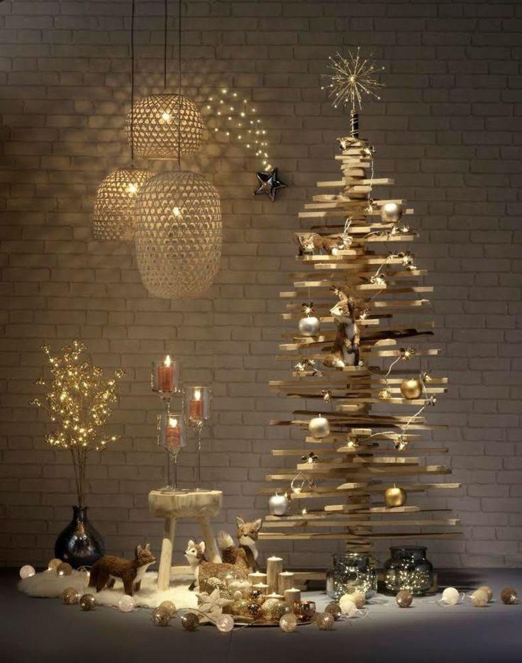 Sapin de Noël en bois DIY