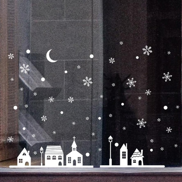 Christmas-Shop-Window-Decoration-Snow