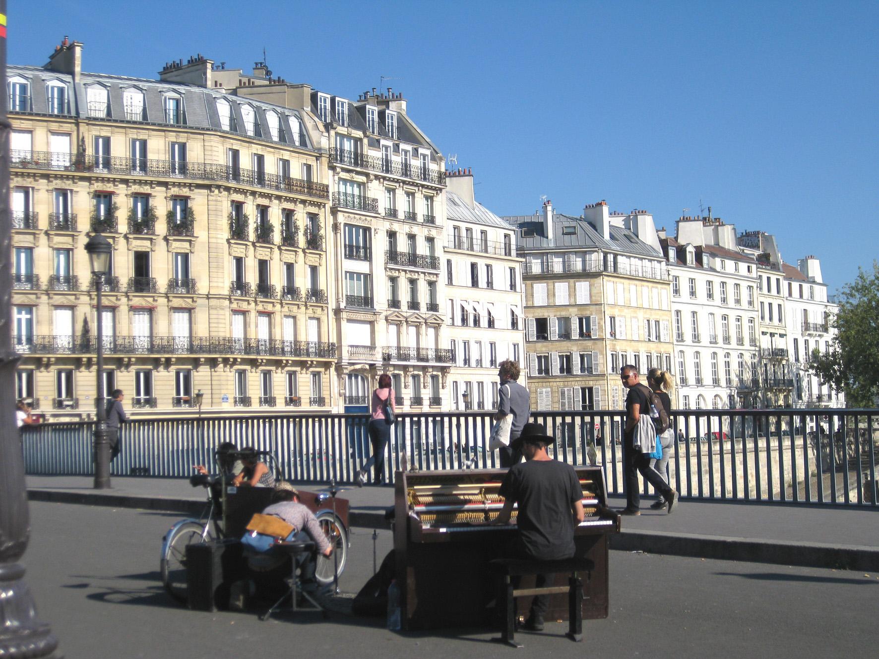 Piano à Paris
