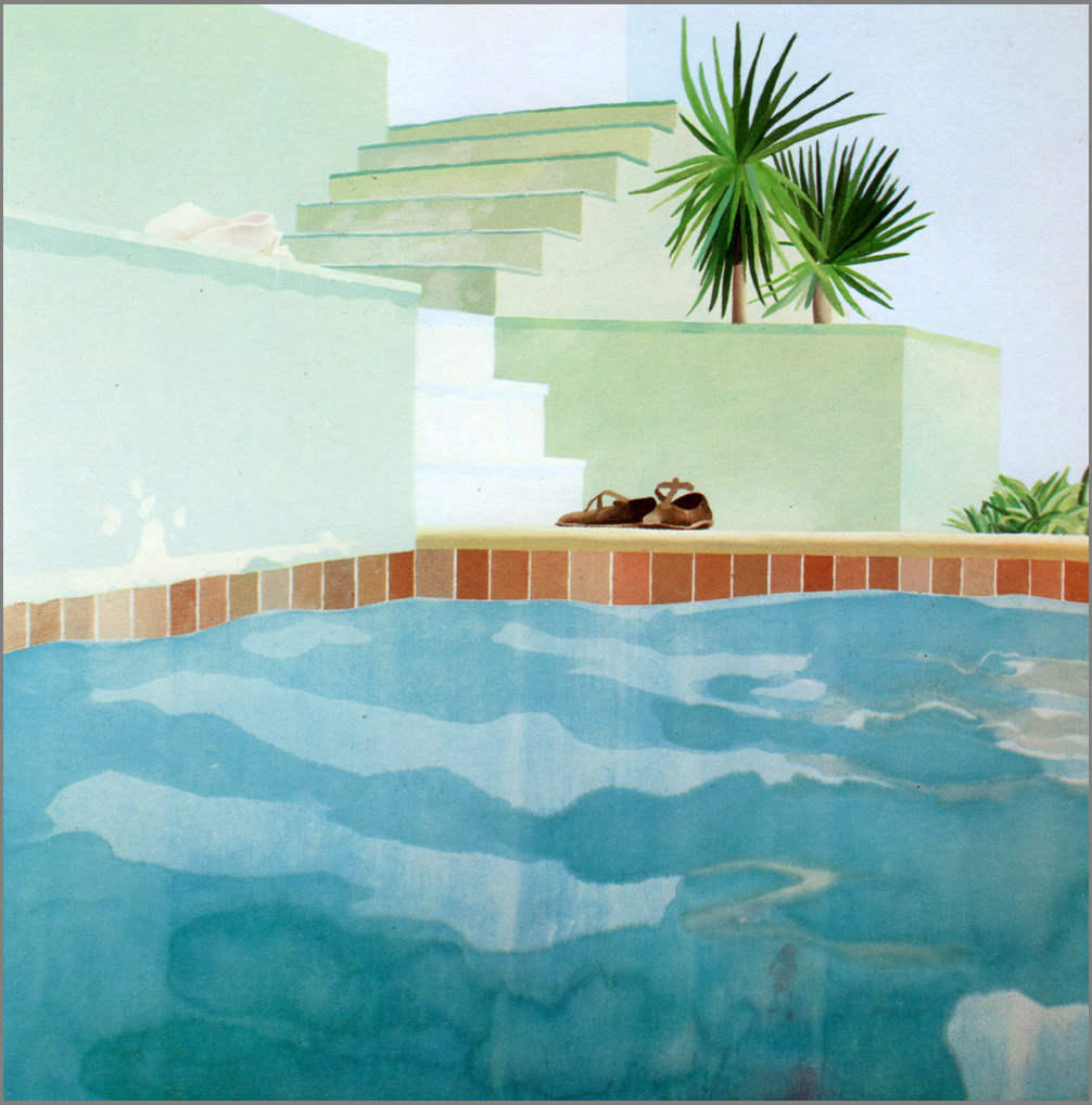 Pool Serie David Hockney