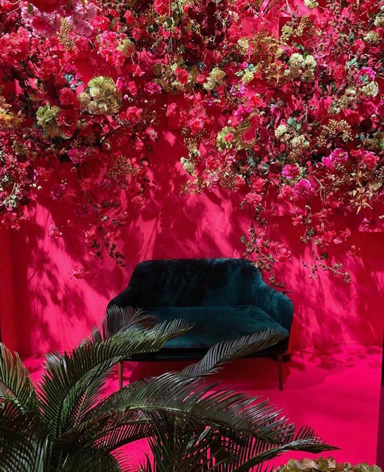 Shocking Pink Wall Maison et Objet septembre 2019