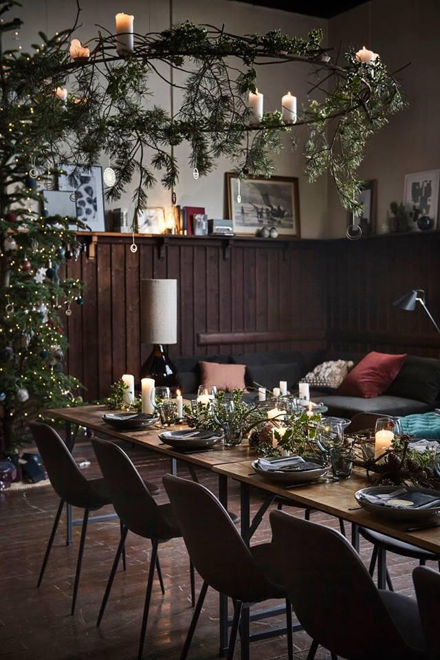Table de fête scandinave