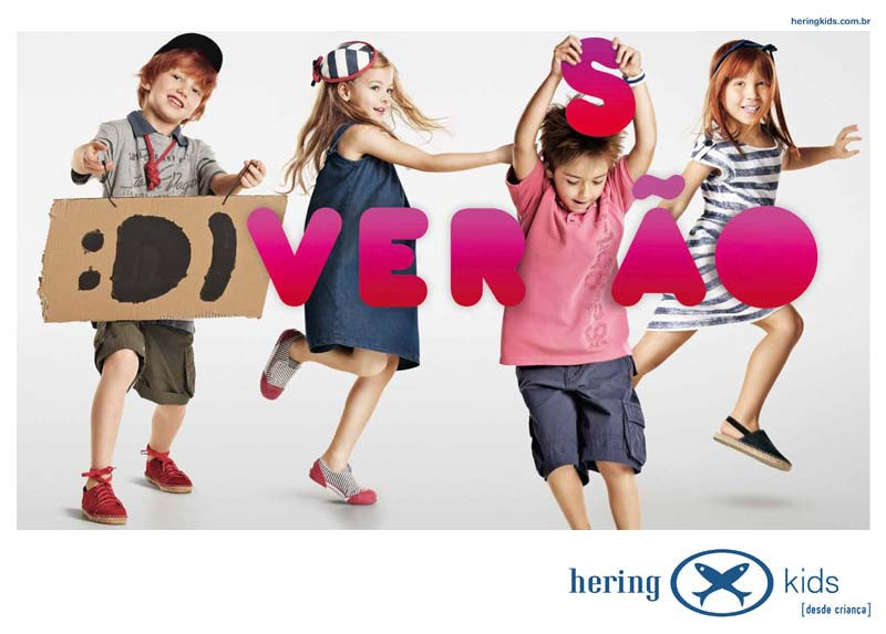 Hering Kids Anúncio Diversão