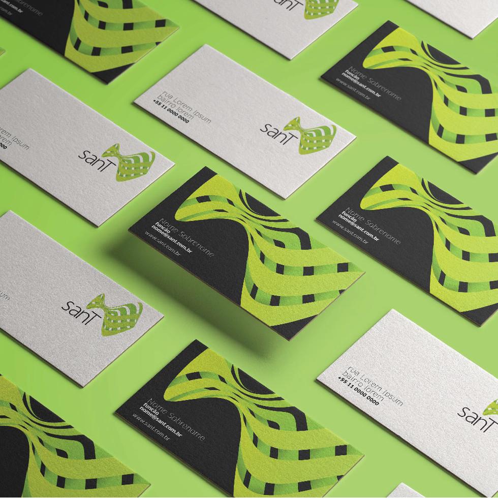 Identidade visual SanT branding marca