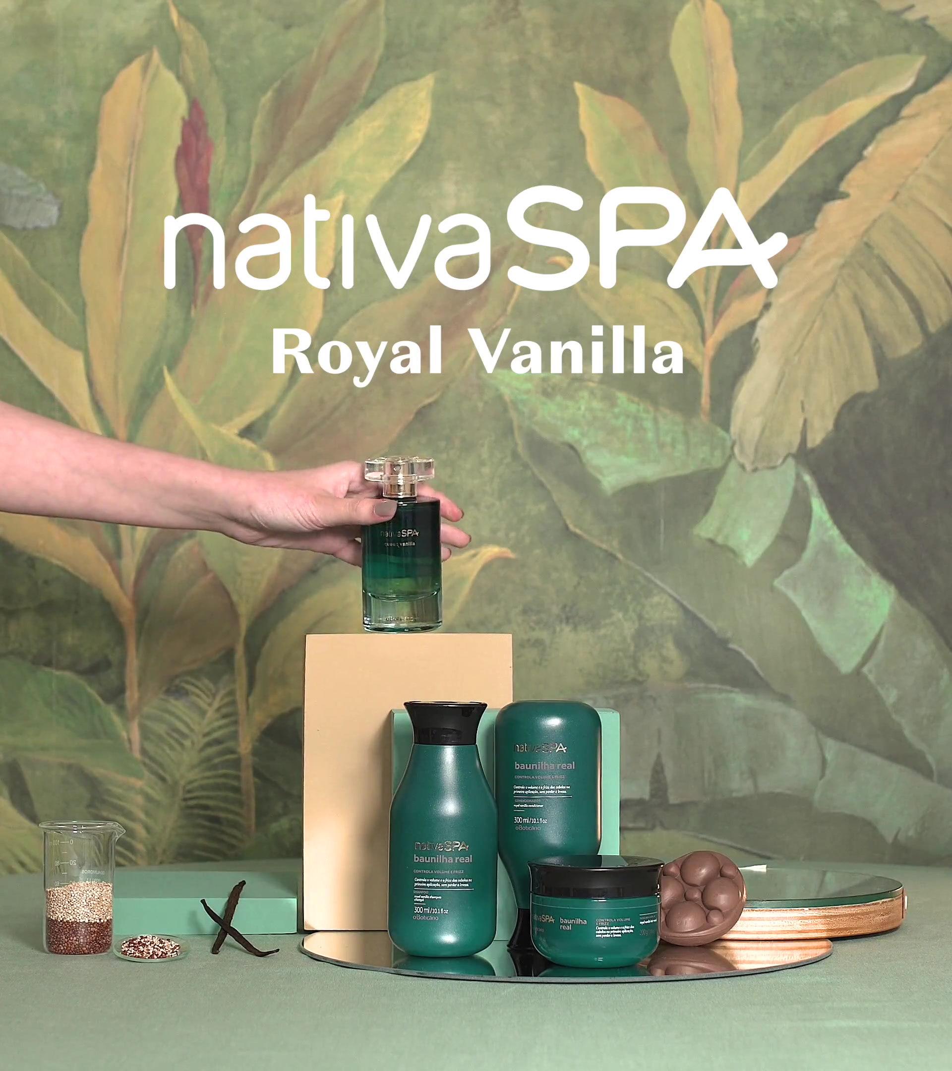 Video Nativa SPA Royal Vanilla O Boticário
