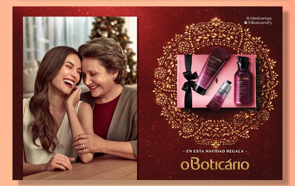 Anúncio O Boticário Navidad