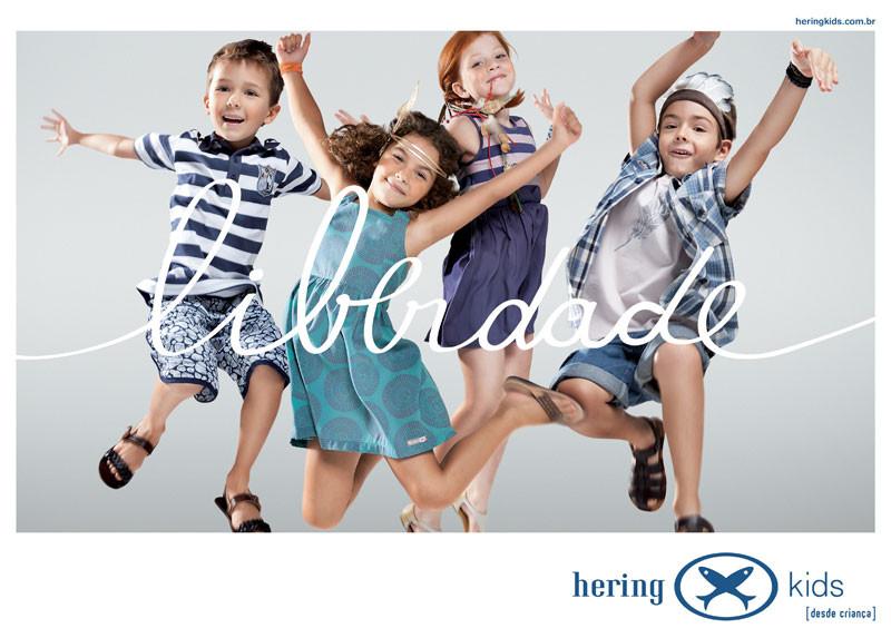 Hering Kids Anúncio Liberdade