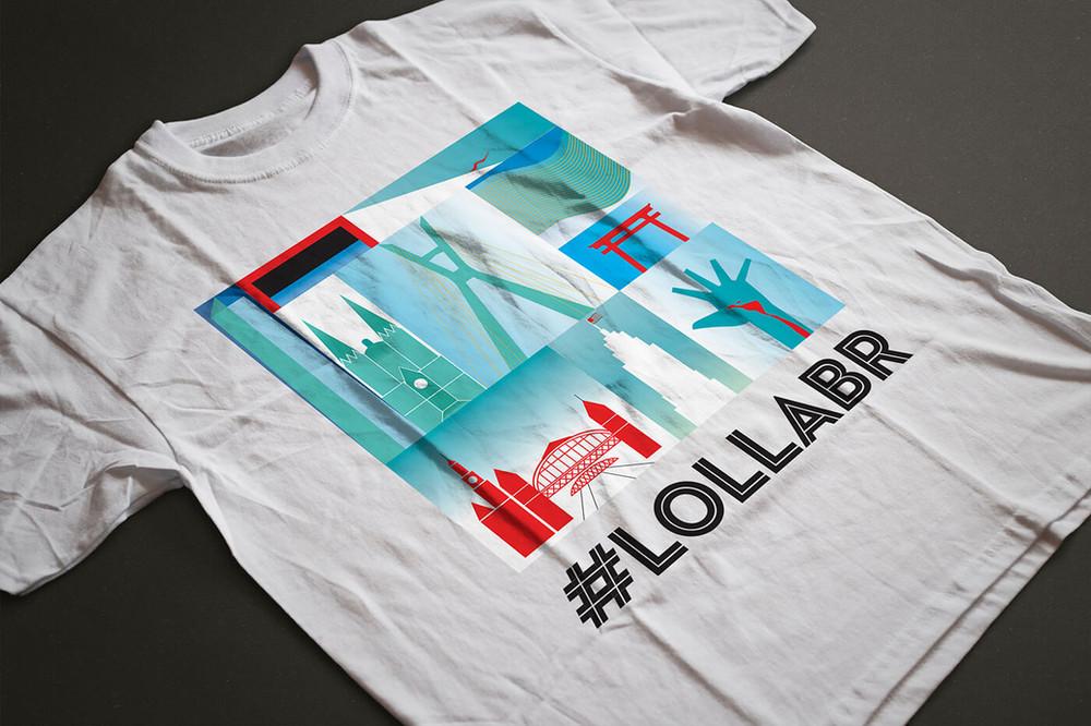 Lollapalooza Merchandising T-shirt
