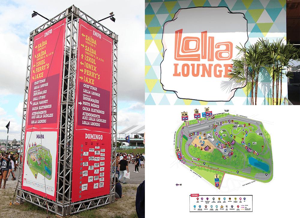 Lollapalooza Brasil 2017 maps and venue