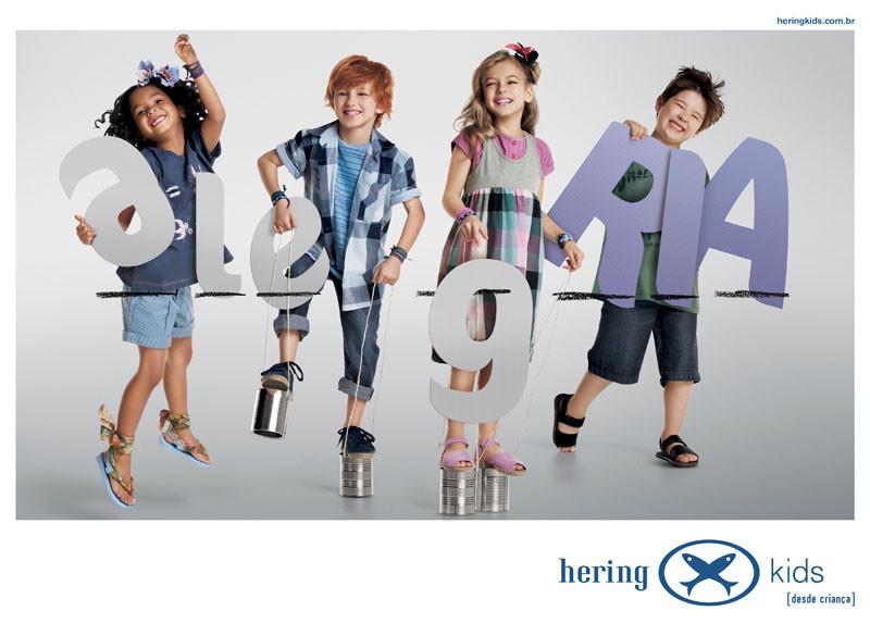 Hering Kids Anúncio Alegria