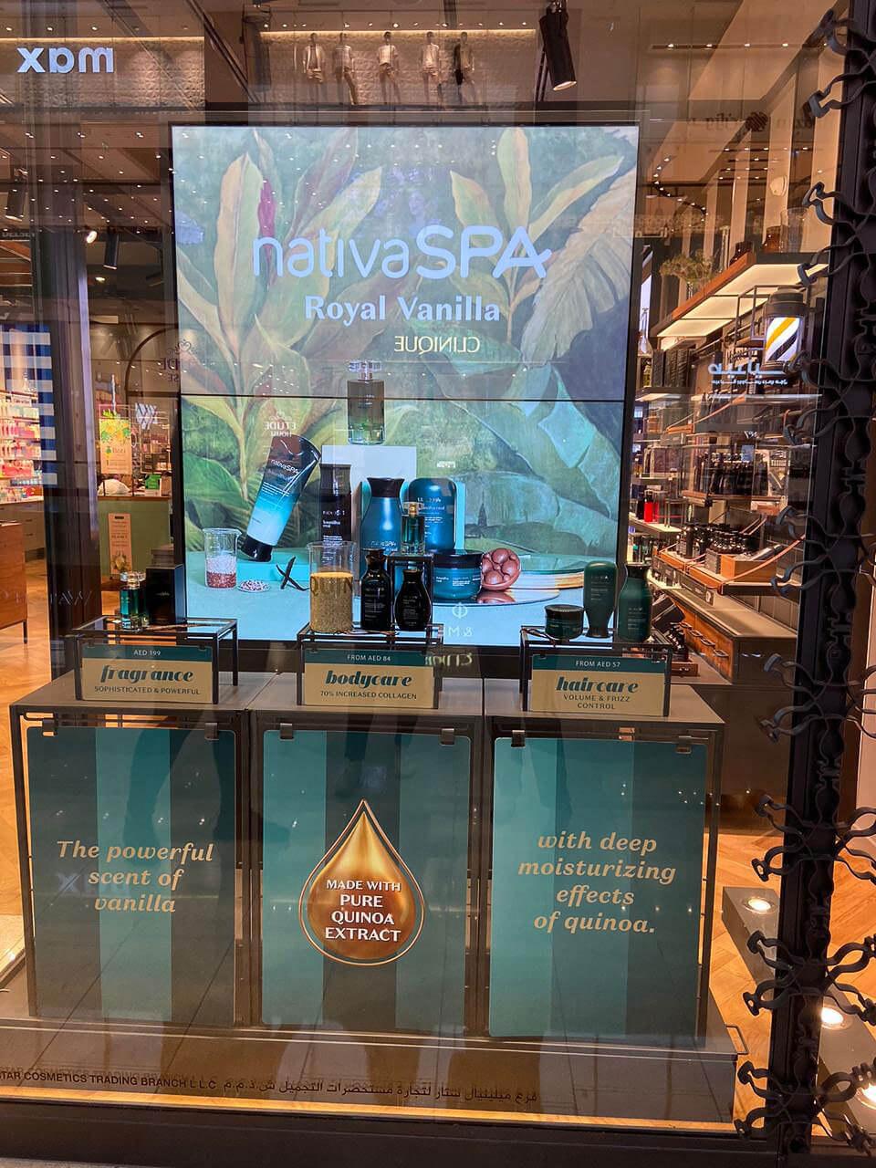 Dubai Visual Merchandising O Boticário