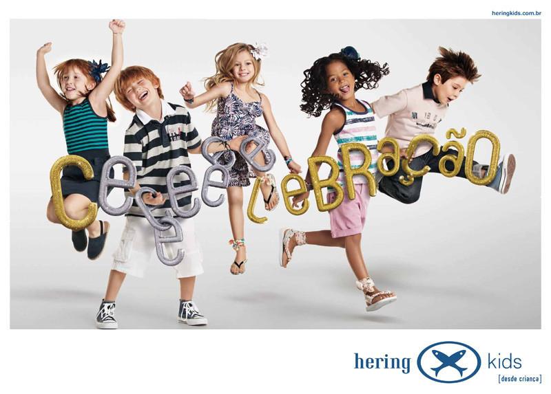 Hering Kids Anúncio Celebração