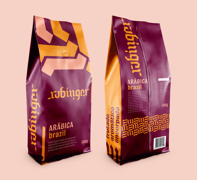 Rubinger Cafe packaging