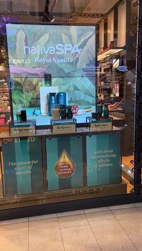 Dubai Mall Visual Merchandising O Boticário