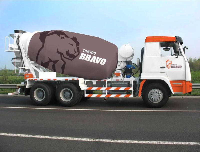 Identidade Cimento Bravo Caminhão