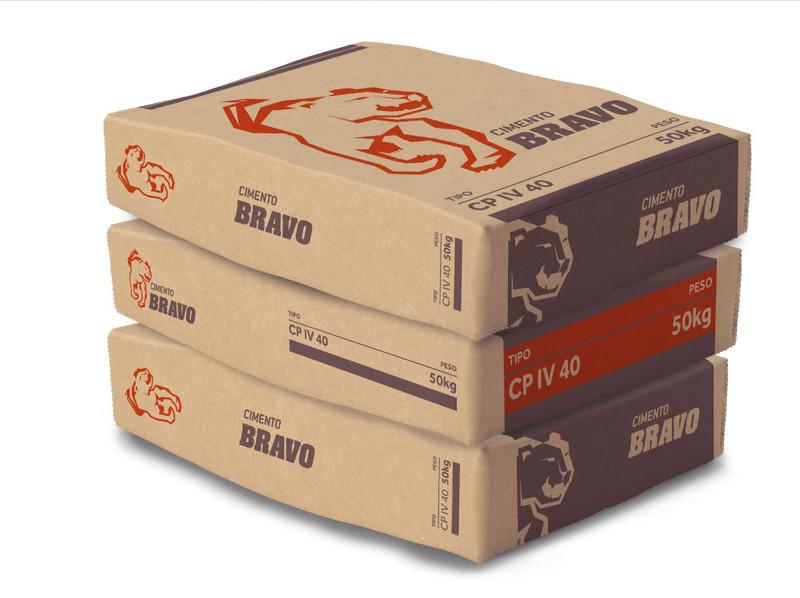 Packaging Cimento Bravo