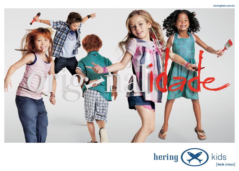 Hering Kids Anúncio Originalidade