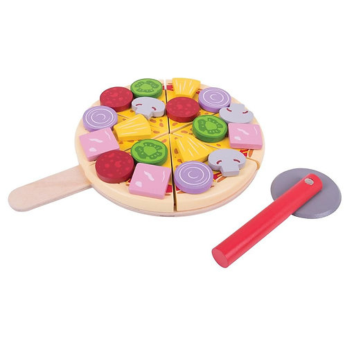 Wooden Pizza 1