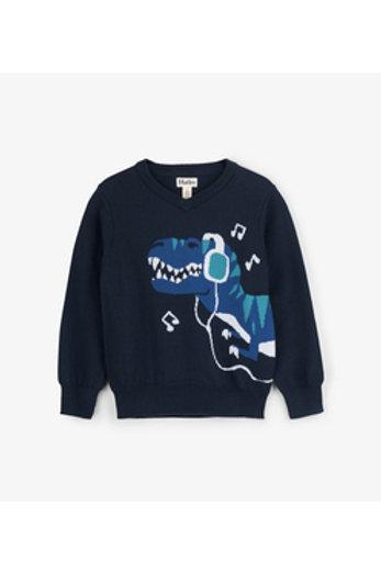 Rocking Rex V-Neck Sweater