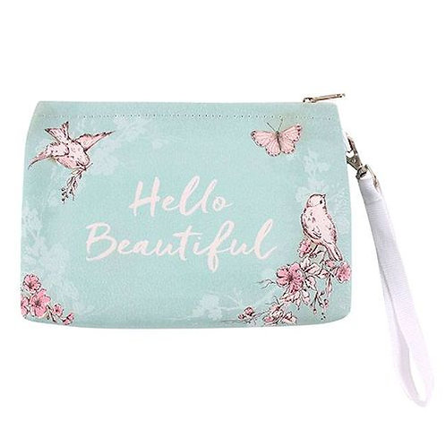 Rustic Romance Hello Beautiful - Make Up Bag