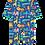 Toby Tiger Jungle Sleepsuit