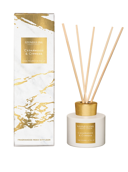 Stoneglow Cedarwood and  Cypress Reed Diffuser