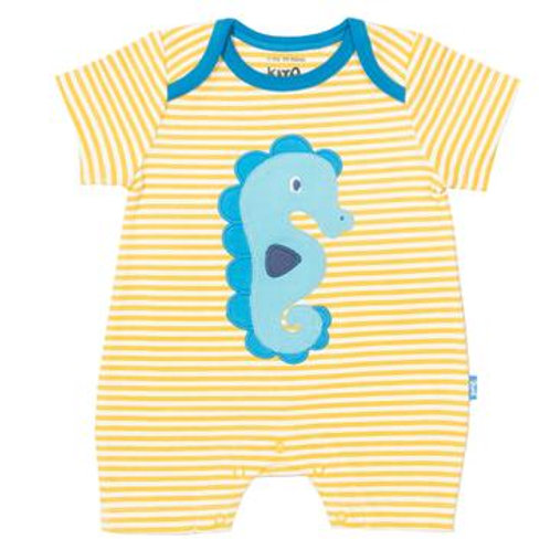 Kite Clothing - Sea Horse Romper - Front