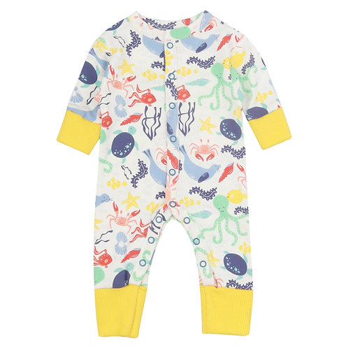 Piccalilly - Undrwater Baby Romper